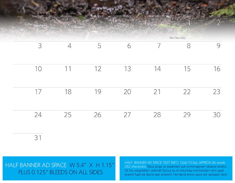 Advertise In 2016 Vancouver Trail Running Calendar Run Wild Vancouver