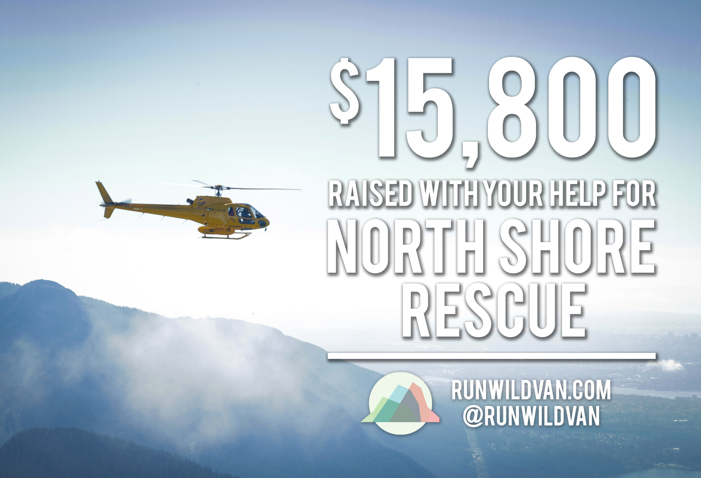 $15,800 Raised for North Shore Rescue!