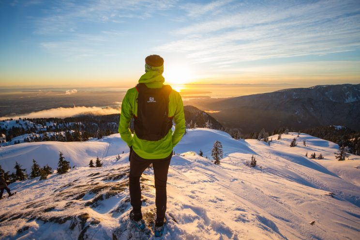 Winter trail running safety
